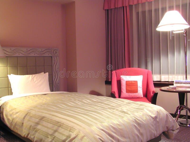 гостиница сверстницы спальни стоковое изображение