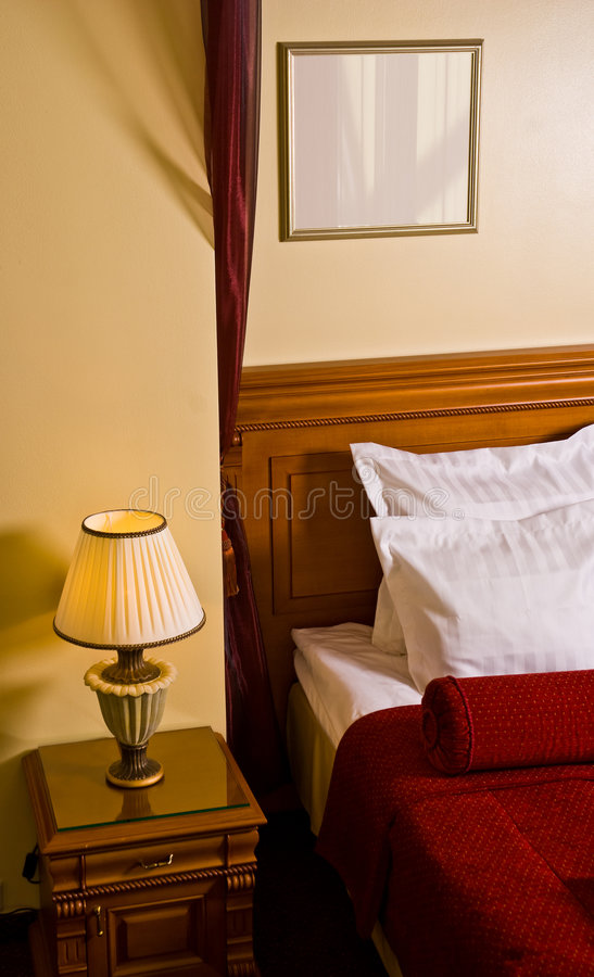 гостиница спальни стоковая фотография