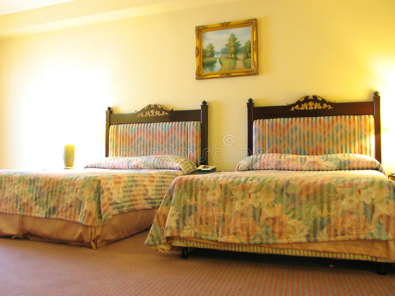 гостиница спальни Стоковые Изображения RF