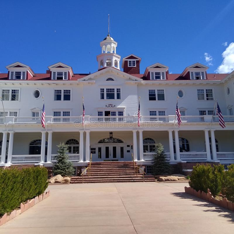 Гостиница Стэнли стоковое изображение