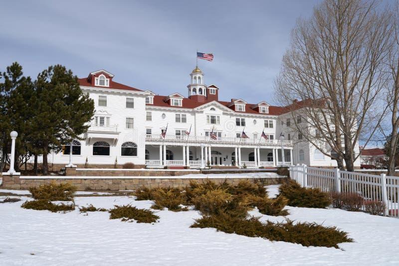 Гостиница Стэнли - передняя левая сторона стоковая фотография rf