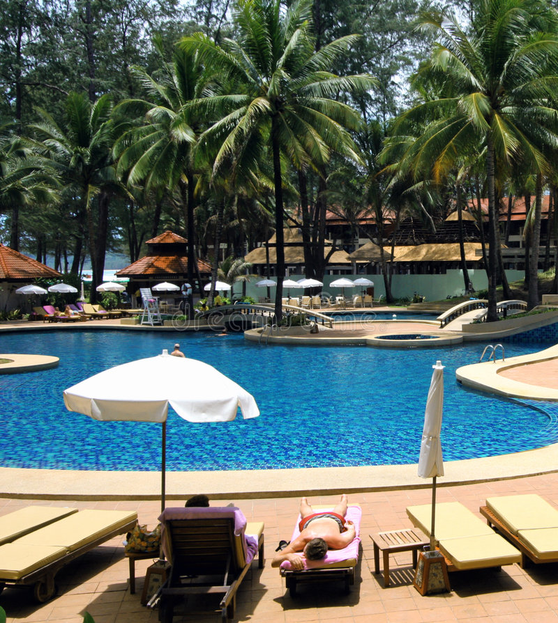 гостиница Таиланд стоковые фотографии rf