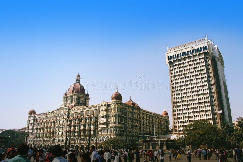 Гостиница Тадж-Махал, Бомбей (Мумбай) стоковое изображение rf