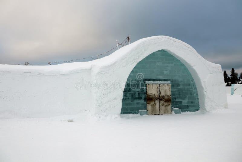 Гостиница льда стоковое изображение rf