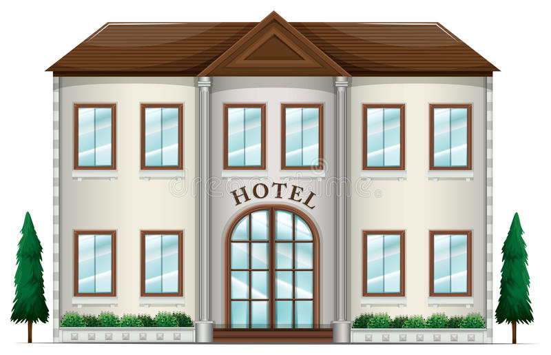 Гостиница бесплатная иллюстрация