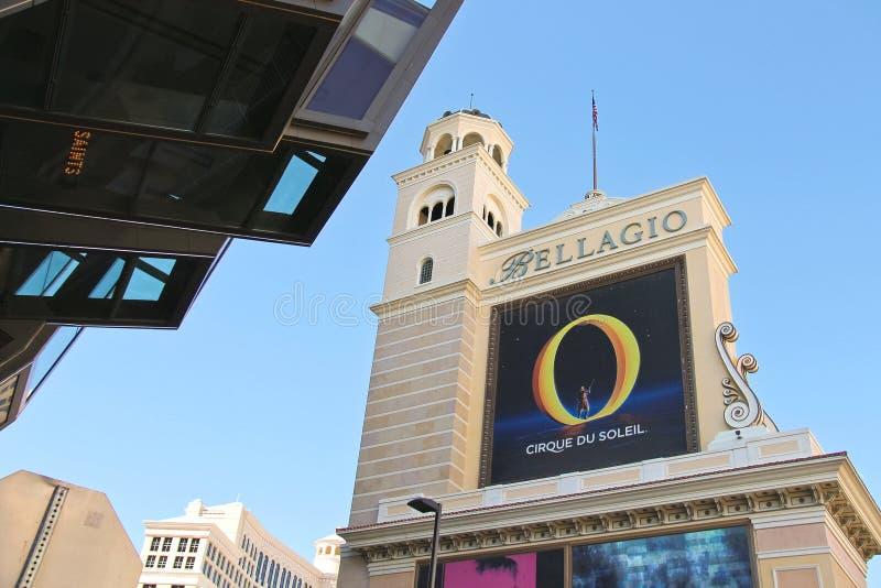 Гостиница Bellagio в Лас-Вегас стоковая фотография rf