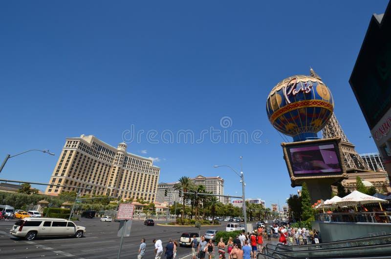 Гостиница Bellagio и казино, ориентир ориентир, город, городок, дорога стоковые фотографии rf