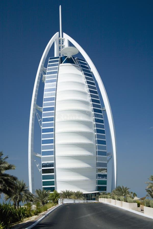гостиница burj al арабская стоковая фотография