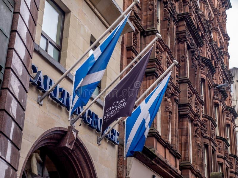 Гостиница Carlton Джордж стоковое изображение rf
