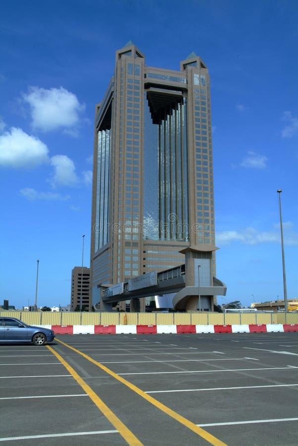 гостиница fairmont Дубай стоковые изображения rf