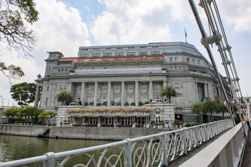 Гостиница Fullerton, Сингапур стоковые изображения