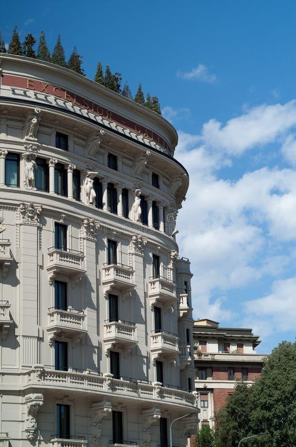 Гостиница Gallia эксцельсиора стоковые фотографии rf