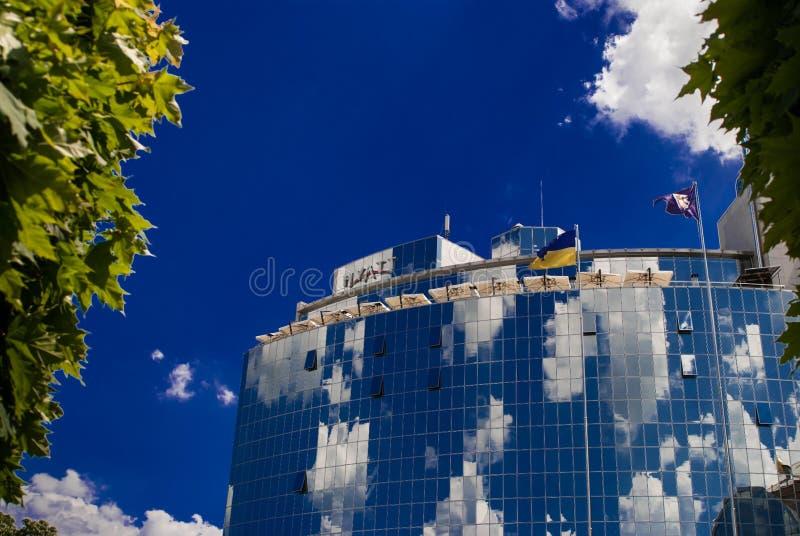 Гостиница Hyatt Киев стоковое изображение