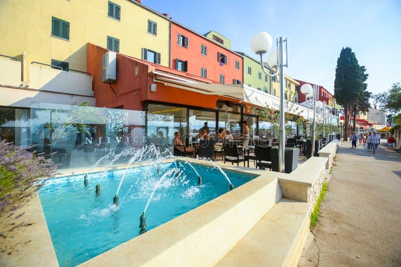 Гостиница Jadran в Njivice стоковые изображения