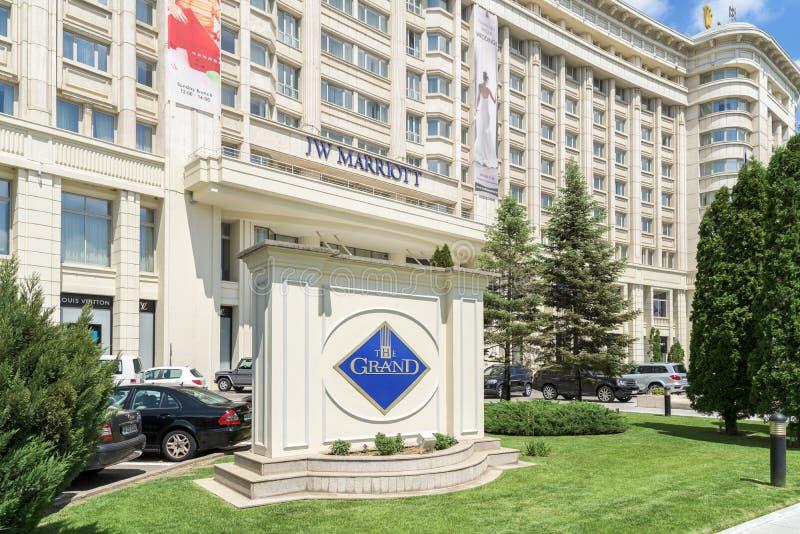 Гостиница Jw Marriott Бухареста грандиозная стоковая фотография
