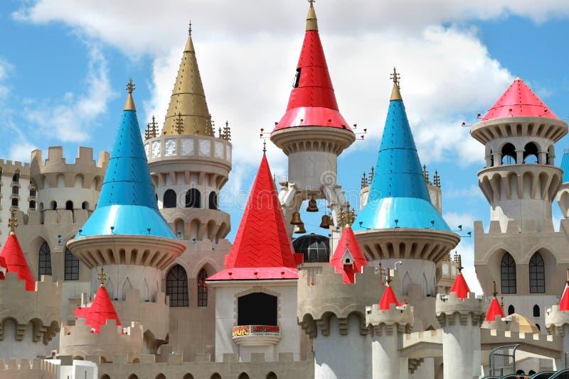 гостиница Las Vegas excalibur стоковое изображение