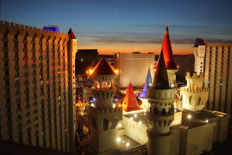 Гостиница Las Vegas Excalibur стоковая фотография