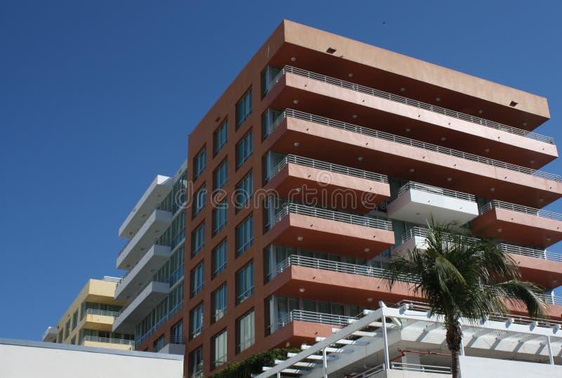 гостиница miami пляжа южный стоковая фотография