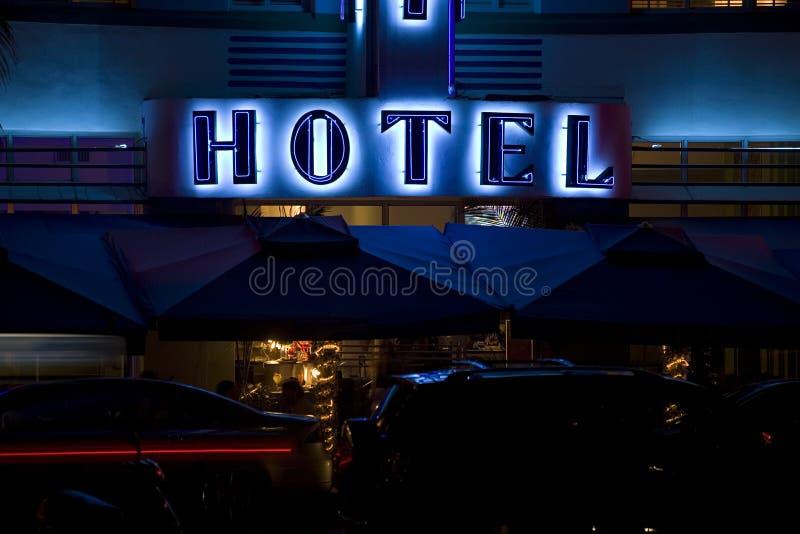 гостиница miami пляжа стоковые фотографии rf