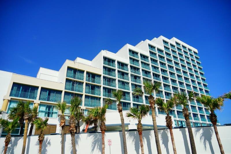 Гостиница oceanview Daytona Beach стоковое изображение rf