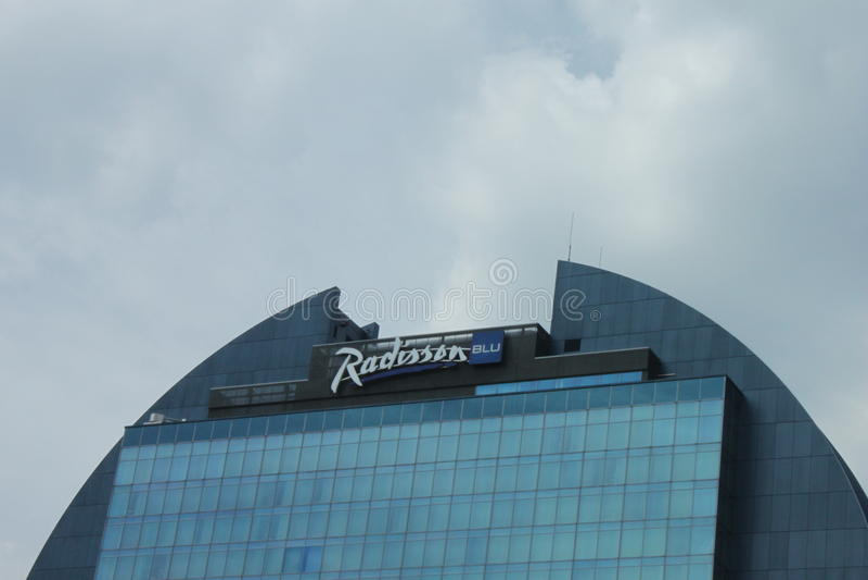 Гостиница Radisson голубая стоковая фотография