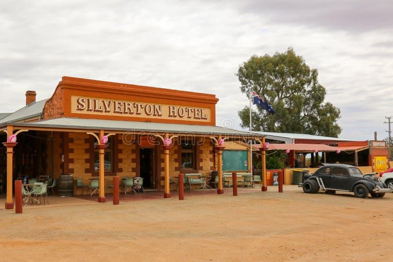 Гостиница Silverton около сломленного холма стоковое изображение