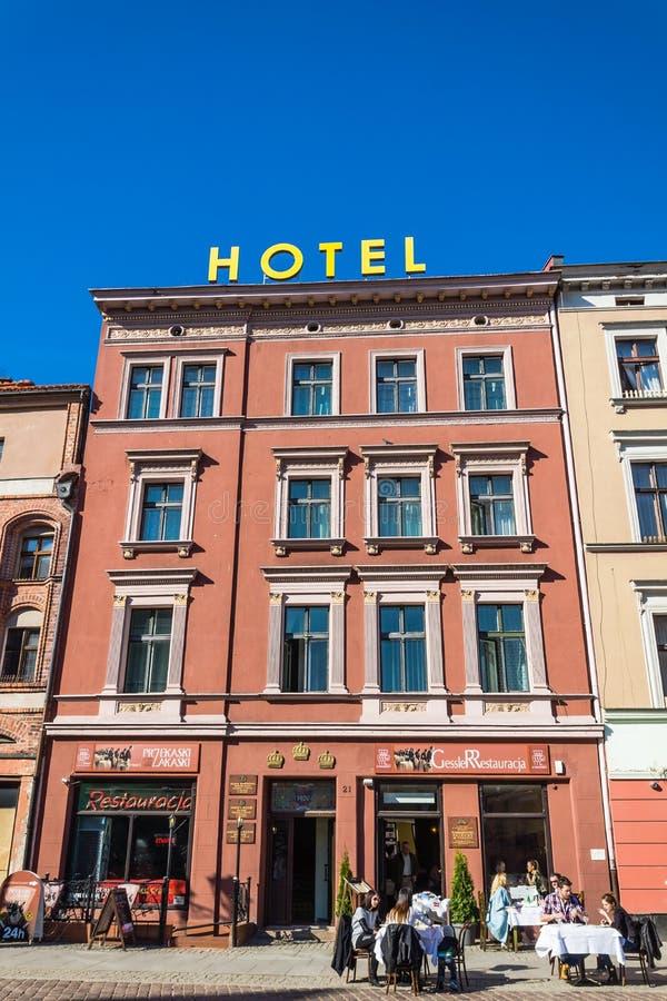 Гостиница Trzy Korony стоковая фотография