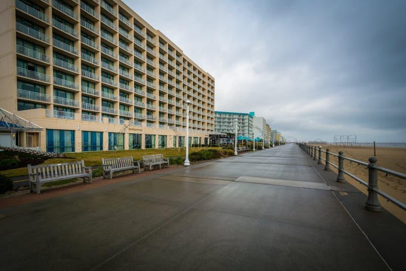 Download Гостиницы променада и Highrise в Virginia Beach, Вирджинии Редакционное Изображение - изображение насчитывающей сценарно, красивейшее: 81800860