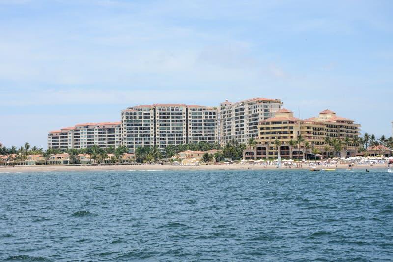 Гостиницы Puerto Vallarta стоковые фото