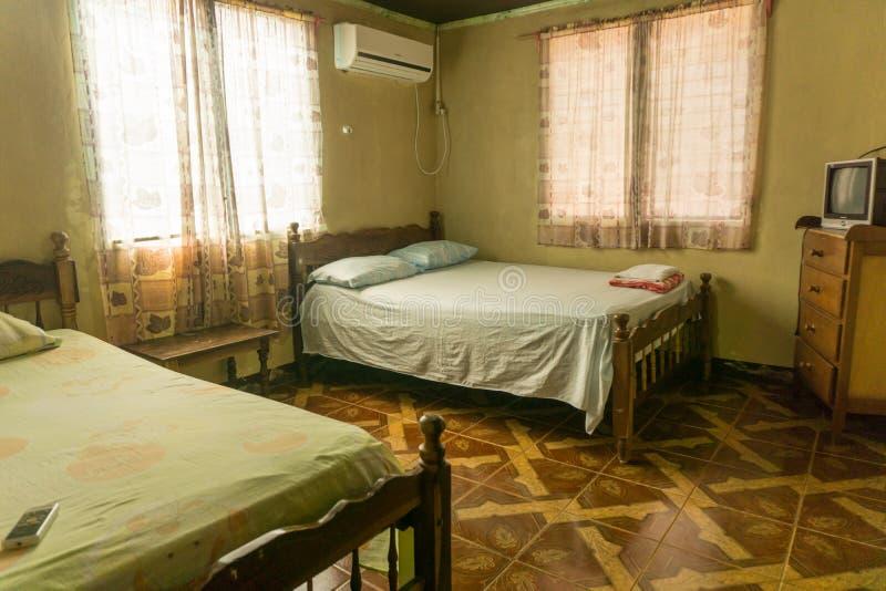 гостиничный номер 2 кроватей стоковые изображения