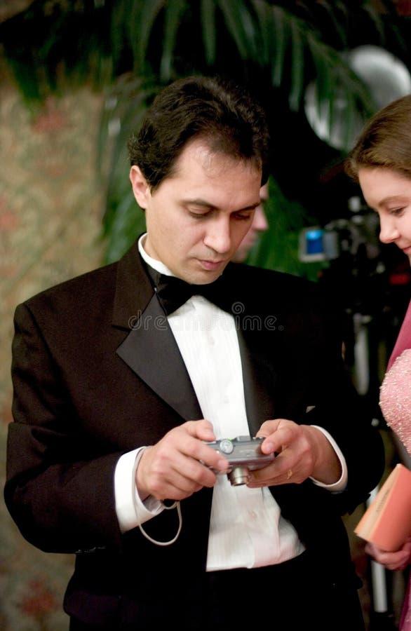 гости Wedding Стоковое Изображение