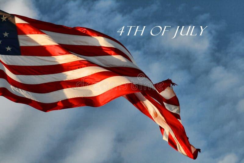 Государственный флаг США сигнализирует стоковая фотография rf
