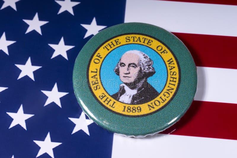 Государство Вашингтона стоковое изображение