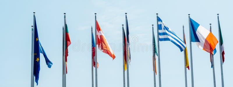 Государство-члены Европейского союза стоковые изображения rf