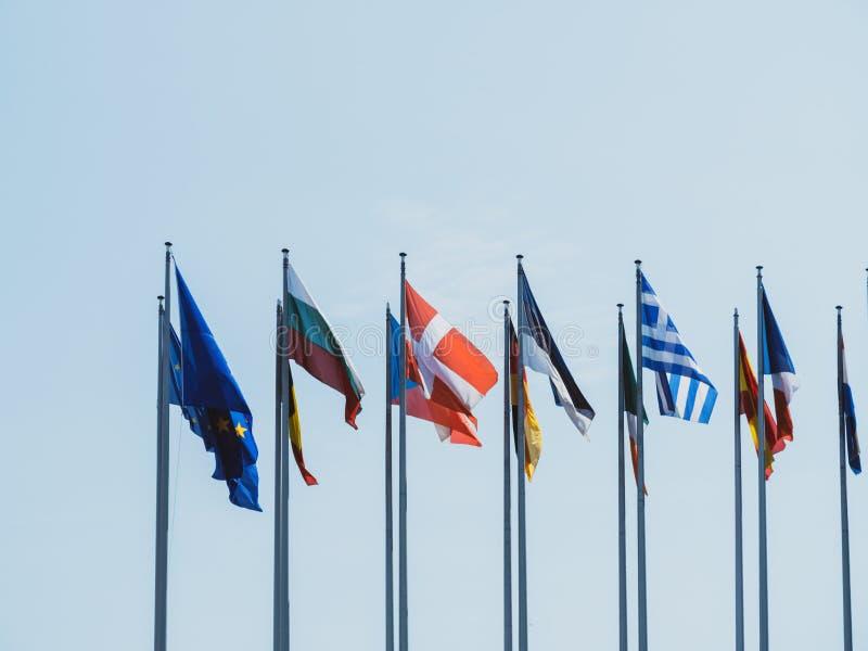 Государство-члены Европейского союза стоковое фото