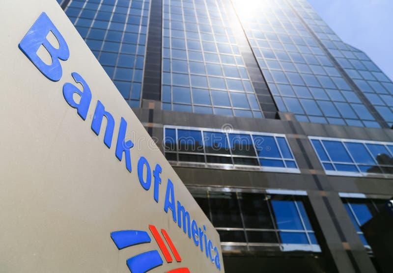 Государственный банк Америки в Kansas City стоковые изображения rf
