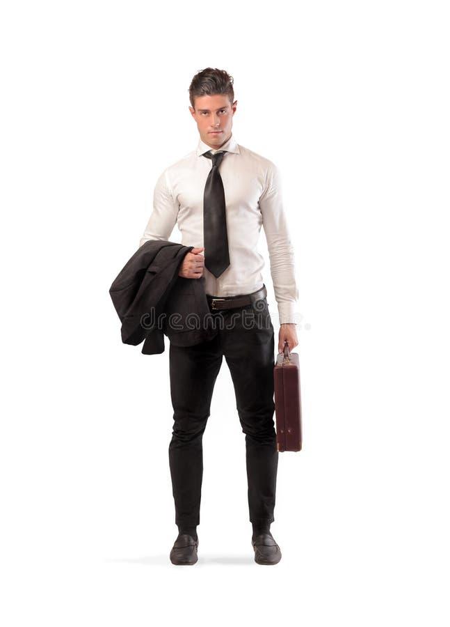 Готовый бизнесмен стоковые фотографии rf