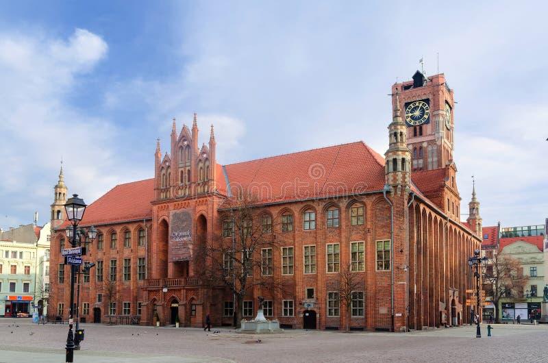 Download Готская ратуша Старый городок в Торуне, Польша Редакционное Изображение - изображение насчитывающей башня, туризм: 55065205