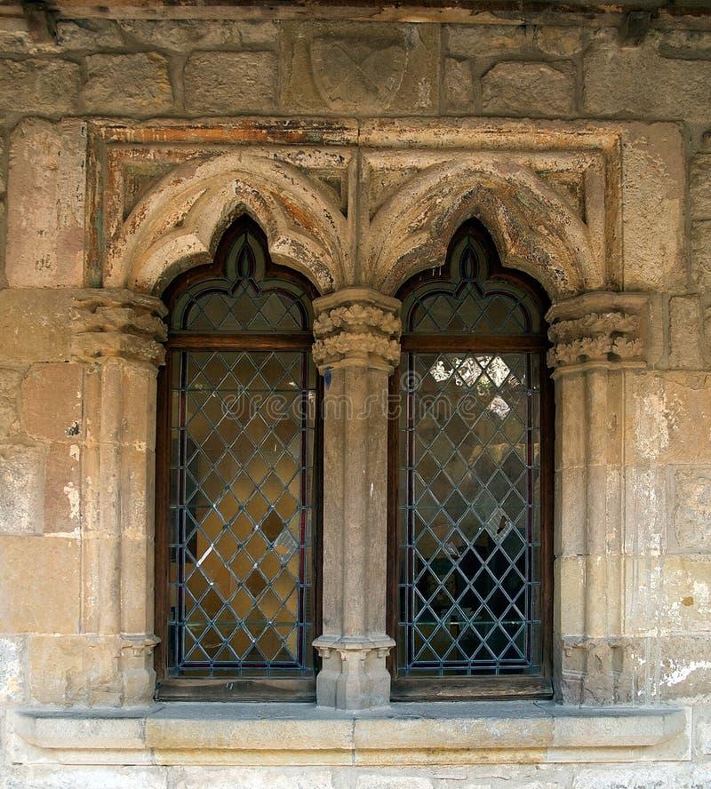 готские окна стоковое фото rf