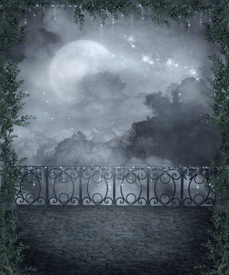 готский пейзаж 107 бесплатная иллюстрация