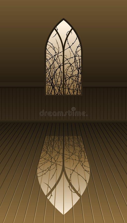 готское окно терниев бесплатная иллюстрация