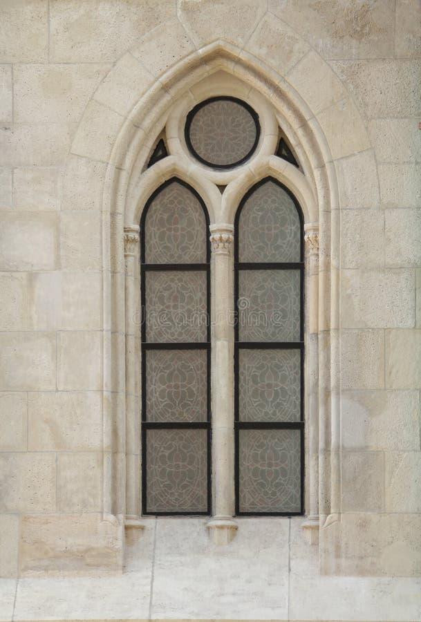готское window1 стоковая фотография rf