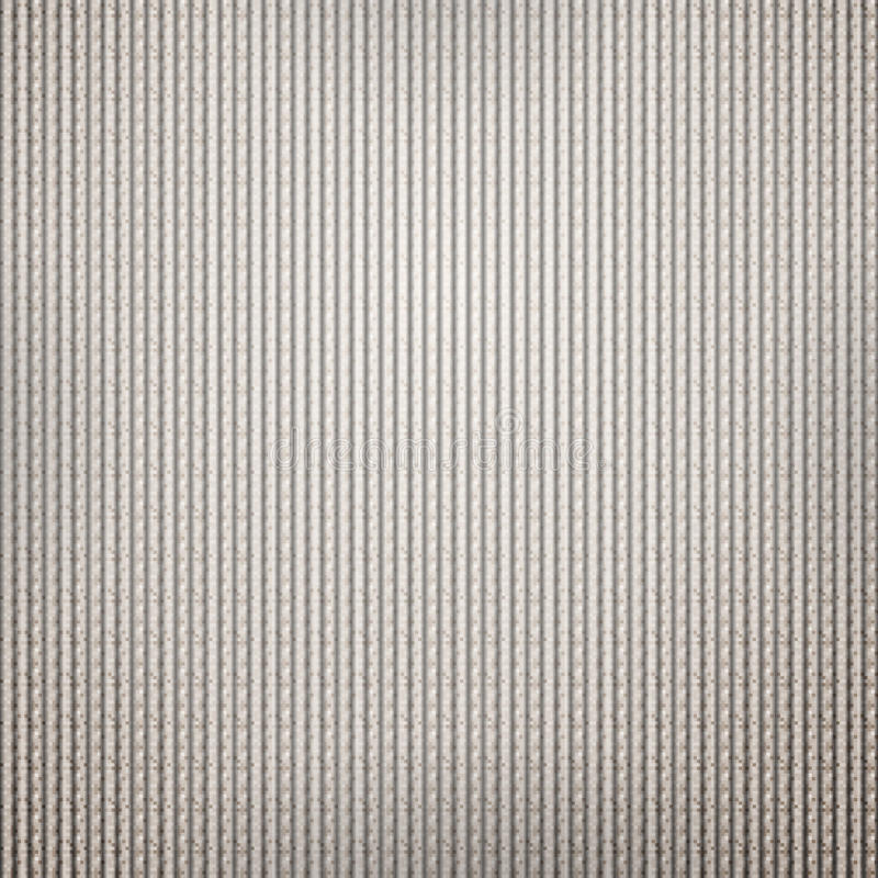 Гофрированная предпосылка картона с текстурой пиксела иллюстрация вектора