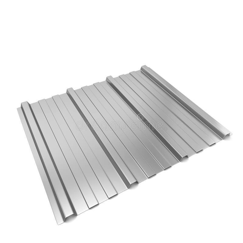 гофрированный лист металла бесплатная иллюстрация