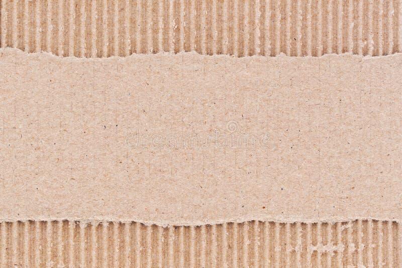 Гофрированный картон   стоковое изображение rf