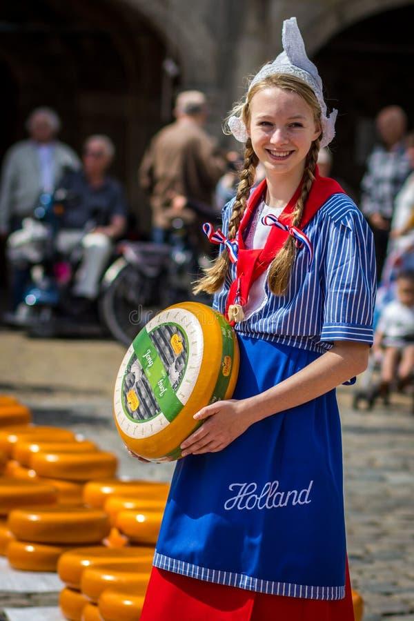 Голландская девушка стоковое изображение
