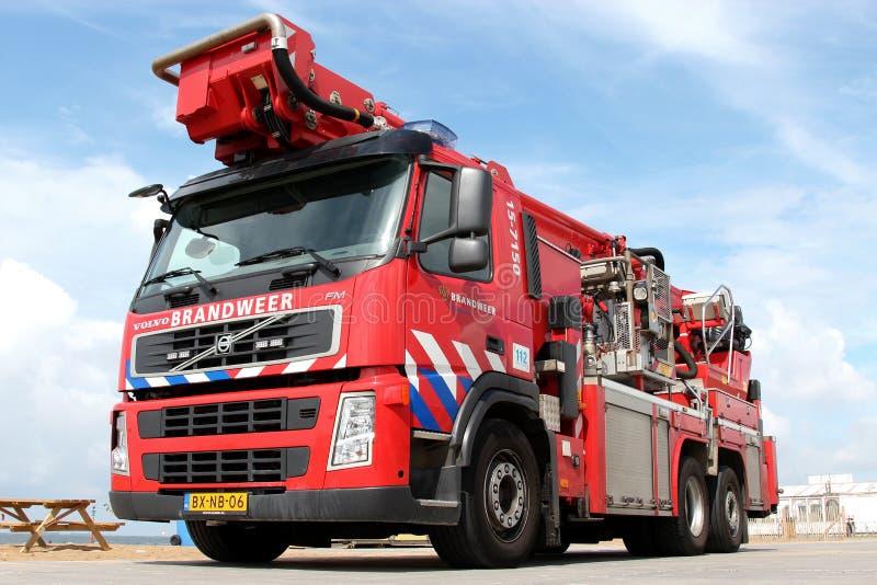 Голландская пожарная машина стоковые фотографии rf
