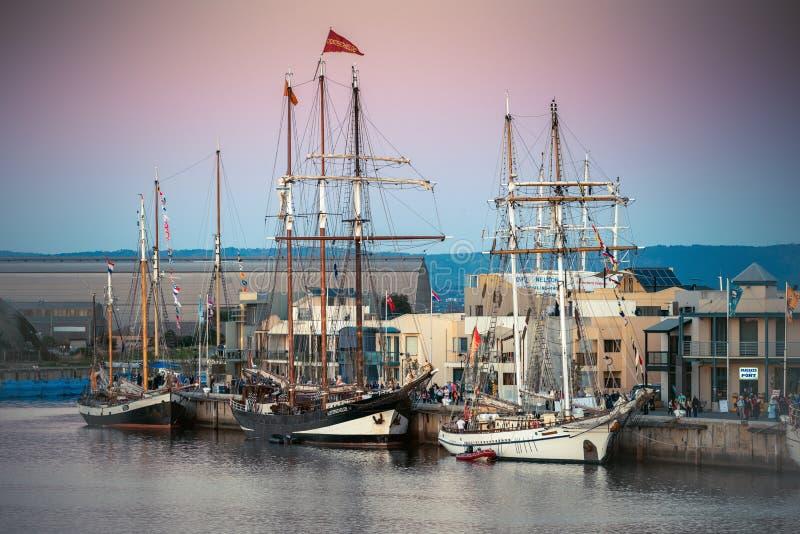 Голландские высокорослые корабли стоковая фотография