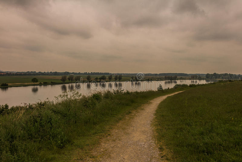 голландский ландшафт стоковое изображение