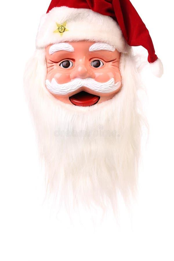 Голова Санта Клауса. стоковое фото rf